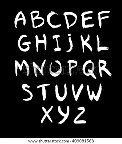white hand drawn alphabet, black alphabet, white abc, hand drawn abc, white letters, dark letters on black, alphabet calligraphy, hand drawn letters,  calligraphy alphabet, hand calligraphy alphabet
