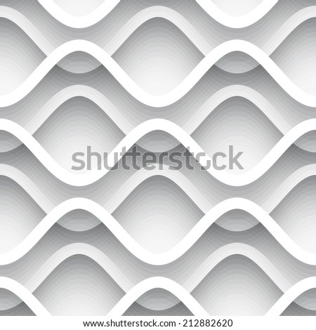 White paper background, abstract vector seamless pattern, eps10