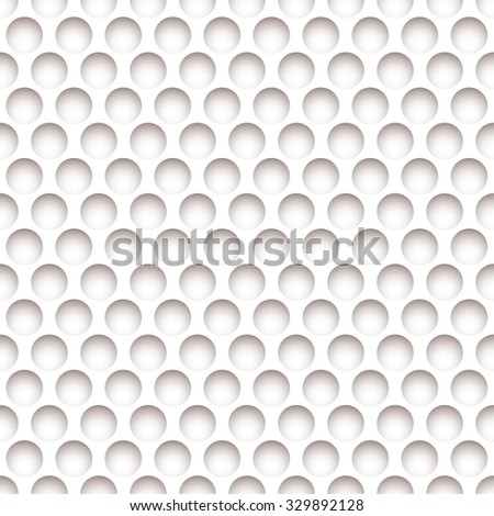 White paper background with holes and shadow effect - stock vector