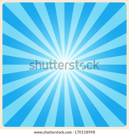 white rays background. Illustration EPS10 - stock vector