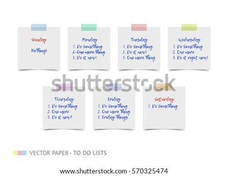 lined to do list memo stock images royalty free images vectors shutterstock
