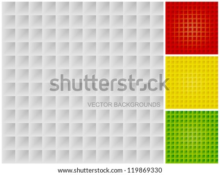 White, red, yellow and green texture, seamless