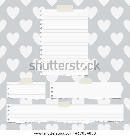 Torn Notebook Paper Images RoyaltyFree Images Vectors – Notebook Paper