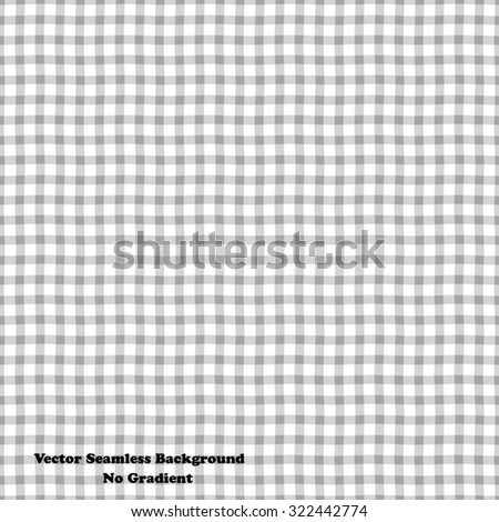 White seamless pattern. Modern checkered background - stock vector