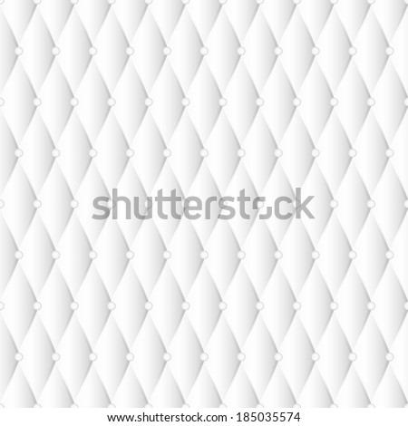 White seamless texture, similar to the upholstery fabric. Vector illustration. - stock vector