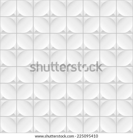 White seamless texture. Vector illustration. - stock vector