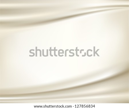 White silk backgrounds - stock vector