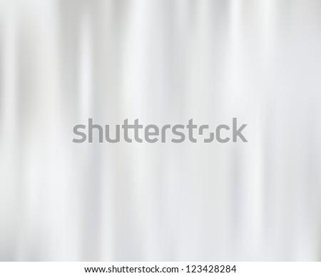 White silk fabric for backgrounds, mesh vector illustration - stock vector
