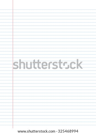 White squared paper sheet background - stock vector