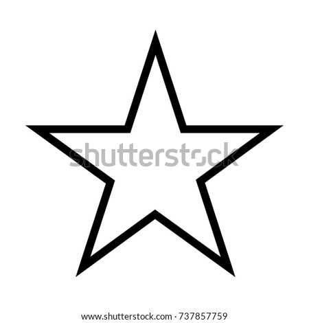 white star vector icon star stock vector 737857759 shutterstock rh shutterstock com star vector file star vector free download