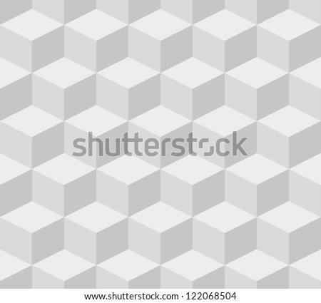 White texture seamless pattern. Abstract geometric background. Vector illustration - stock vector