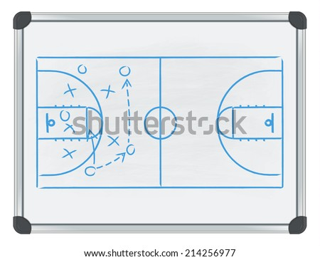 whiteboard basketball