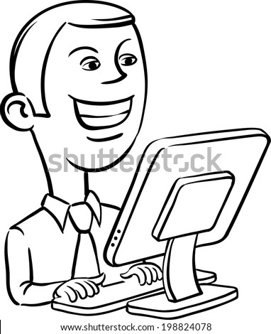 Stock images similar to id 74644855 cartoon smiling for Easy whiteboard drawings