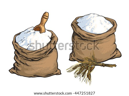 Flour Sack Stock Images, Royalty-Free Images & Vectors ...