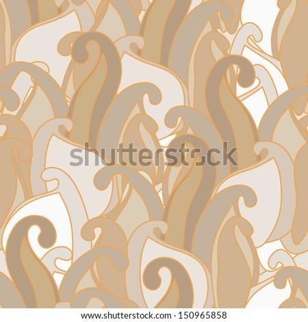 whorl pattern - stock vector