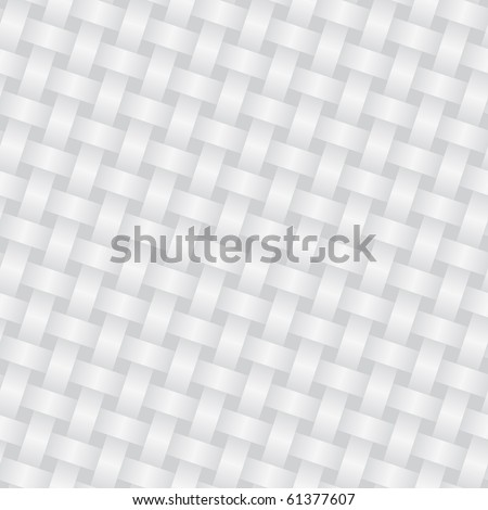 Wicker background (editable seamless pattern) - stock vector