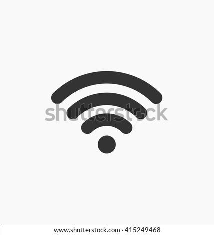 Wifi connection icon vector. Wifi icon art. Wifi icon picture. Wifi icon image. Wifi icon logo. Wifi icon sign. Wifi icon flat. Wifi icon design. Wifi icon app. Wifi icon eps. Wifi icon UI. Wifi point - stock vector