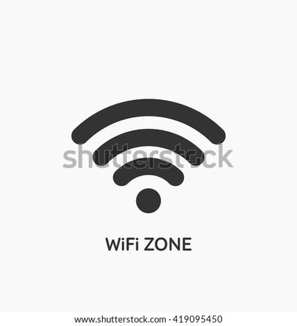 Wifi connection icon vector. Wifi icon art. Wifi icon picture. Wifi icon image. Wifi icon logo. Wifi icon sign. Wifi icon flat. Wifi icon design. Wifi icon app. Wifi icon eps. Wifi icon UI. Wifi zone  - stock vector