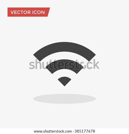 WIFI Icon, WIFI Icon Vector, WIFI Icon Object, WIFI Icon Image, WIFI Icon Picture, WIFI Icon Graphic, WIFI Icon Art, WIFI Icon Drawing, WIFI  Icon JPG, WIFI Icon JPEG, WIFI Icon EPS. - stock vector