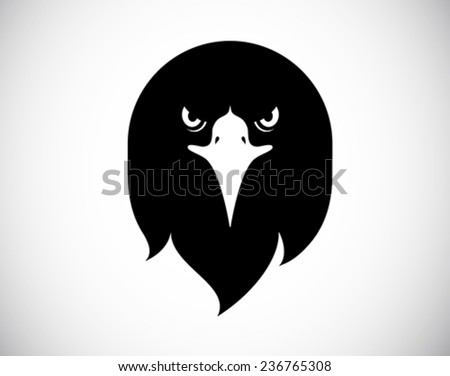 wild bird logo - stock vector