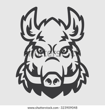stock-vector-wild-boar-head-logo-mascot-