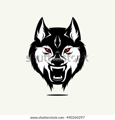 Evil Wolf Face Evil Wolf Stock Images...
