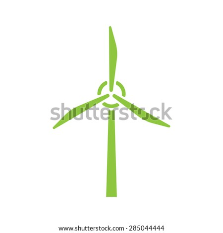wind generator vector icon