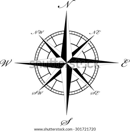 wind rose (vector)