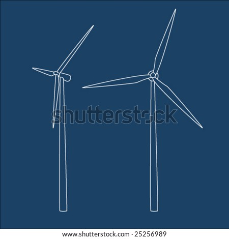 Wind turbine icon Stock Photos, Images, & Pictures | Shutterstock