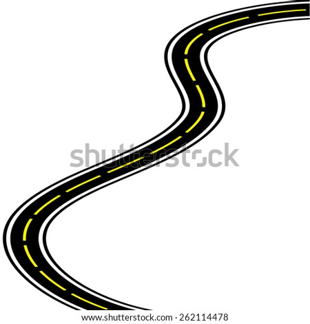 Long Winding Road Stock Vectors & Vector Clip Art ...