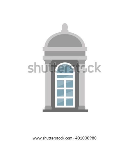 window icon - stock vector