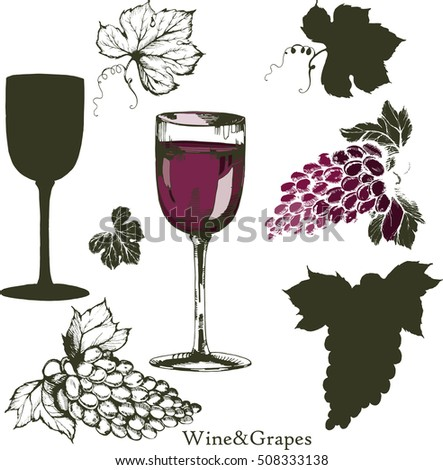Grape-leaf Stock Images, Royalty-Free Images & Vectors ...