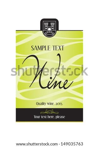 Wine Label Design Stock Images RoyaltyFree Images Vectors