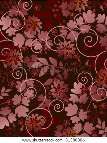 wine-red natural background - stock vector