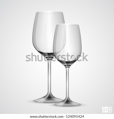 wineglass - stock vector