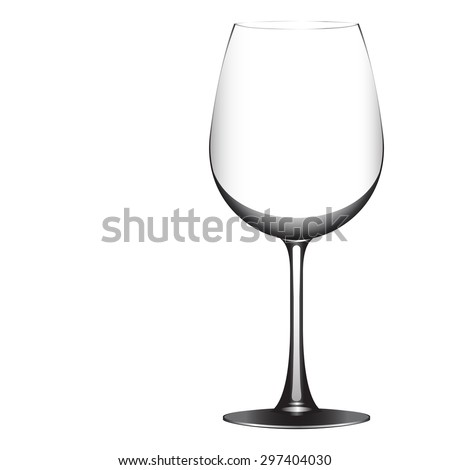 Wineglass vector (EPS 10)