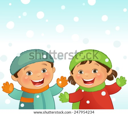 Winter - stock vector
