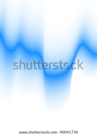 winter abstract background, vector blur effect - stock vector