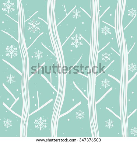 Winter and snow graphic design, vector illustration eps10