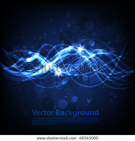 Winter background. Vector eps 10