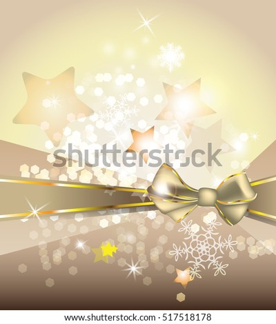 Winter holiday vector background