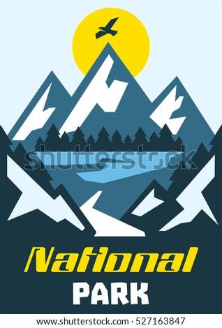 National Parks Stock Vectors, Images & Vector Art | Shutterstock