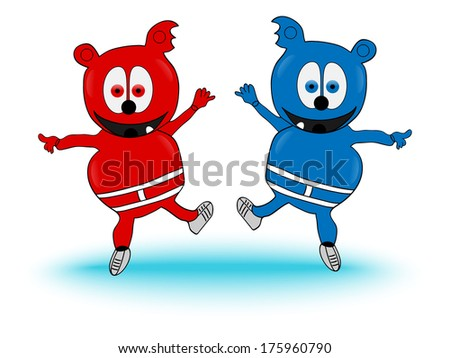 Gummy Bears Cartoon Stock Photos Royalty Free Images Vectors