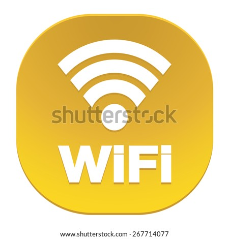 Wireless Network Symbol. Internet connection Icon