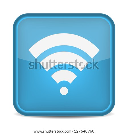 Wireless Network Symbol. vector - stock vector
