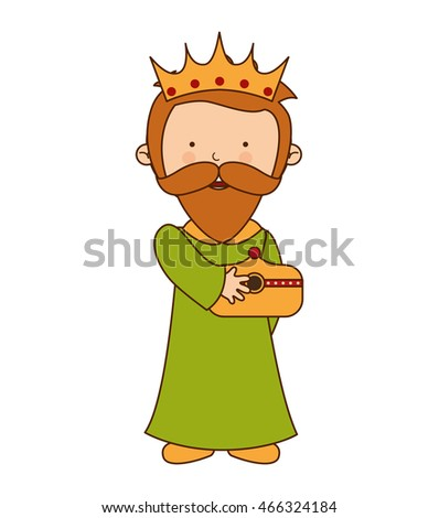 wise man character icon vector illustration graphic
