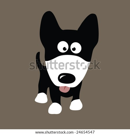 Wolf Dog Vector (other dogs in portfolio) - stock vector