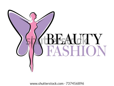 Beauty And Body Treatments Slimming Business Vector Logo