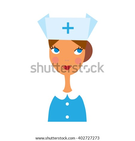 Woman doctor icon. Woman doctor Flat design. Woman doctor Vector. Woman doctor illustration. Nurse icon. Doctor female. Nurse character. Doctor for advice.