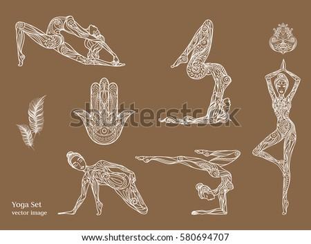Yoga Symbols Stock Images Royalty Free Images Amp Vectors